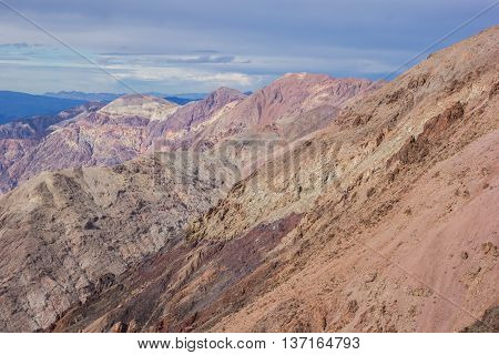 Dante's view in Death Valley National Park USA