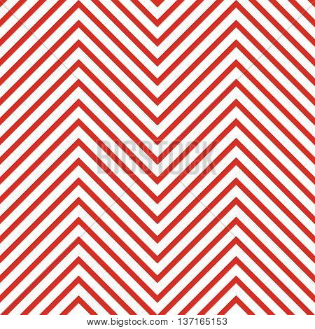 Patriotic USA seamless pattern. American flag symbols and colors. Background for 4th july USA independence day. Zigzag red and white stripes.