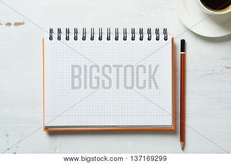 Business still life concept with office stuff on table