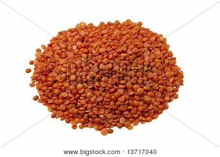 Red Lentils from top