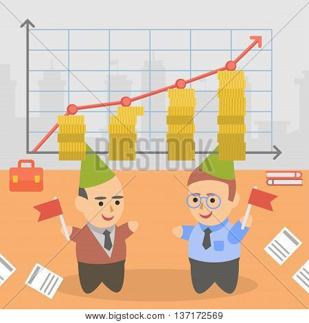 B35 - Business Businessman Client Pairs Character.eps
