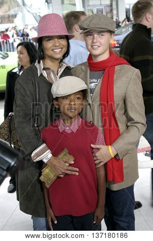 Victoria Rowell at the Los Angeles premiere of 'The Polar Express' held at the Grauman's Chinese Theater in Hollywood, USA on November 7, 2004.