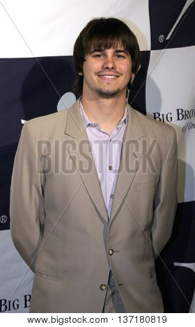 Jason Ritter at the Big Brothers Big Sisters of greater Los Angeles 'Rising Stars' 2004 Gala at the Beverly Hilton Hotel in Beverly Hills, USA on November 11, 2004.
