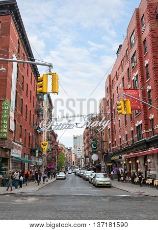 Little Italy, Manhattan, New York, United States