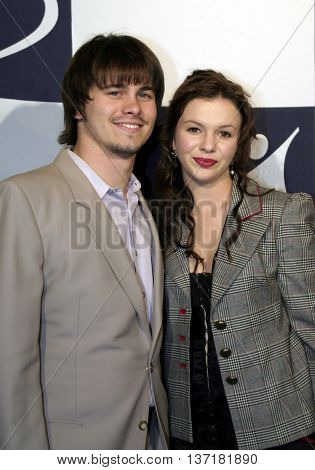 Jason Ritter and Amber Tamblyn at the Big Brothers Big Sisters of greater Los Angeles 'Rising Stars' 2004 Gala at the Beverly Hilton Hotel in Beverly Hills, USA on November 11, 2004.