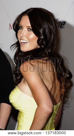 Audrina Patridge at the Maxim's 2008 Hot 100 Party held at the Paramount Studios in Hollywood, USA on May 21, 2008.