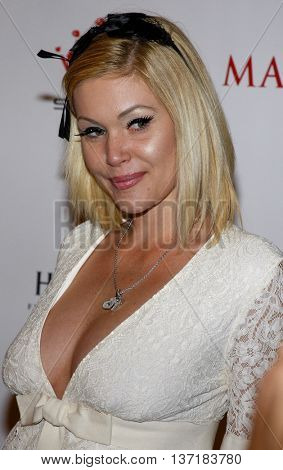 Shanna Moakler at the Maxim's 2008 Hot 100 Party held at the Paramount Studios in Hollywood, USA on May 21, 2008.