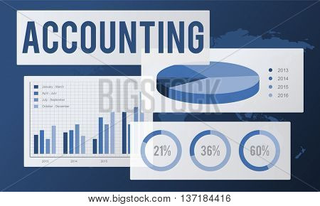 Accounting Auditing Balance Bookkeeping Capital Concept