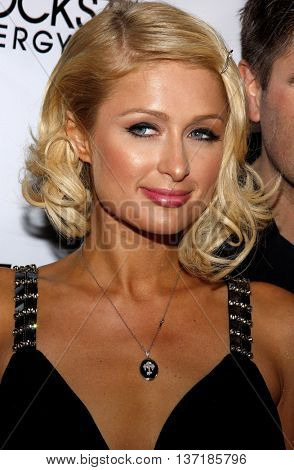 Paris Hilton at the Summer Stars Party 2008 held at the Social in Hollywood, USA on May 22, 2008.