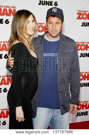 Adam Sandler at the World premiere of 'You Don't Mess With The Zohan' held at the Grauman's Chinese Theater in Hollywood, USA on May 28, 2008.