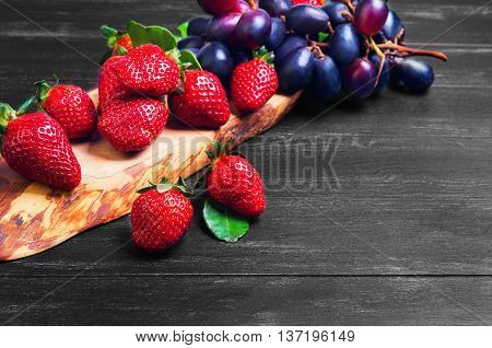 Fruits Red And Purple