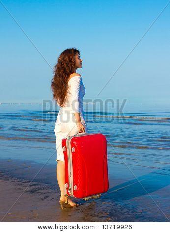 Beach Vacation Happiness