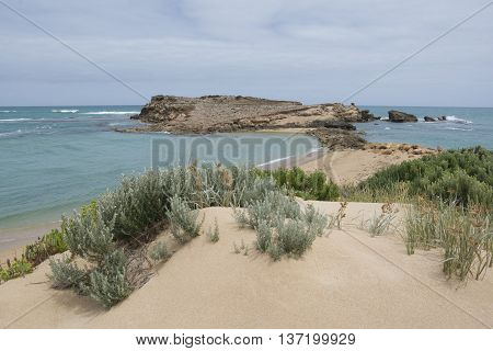 Post Office Rock, Scenic Drive At Beachport, South Australia