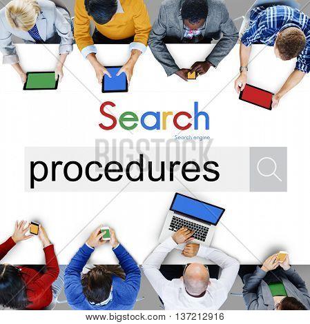 Procedures Process Steps System Method Action Concept