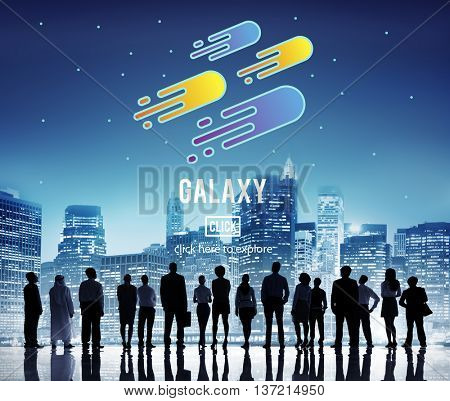 Galaxy Astronomy Exploration Nebular Concept