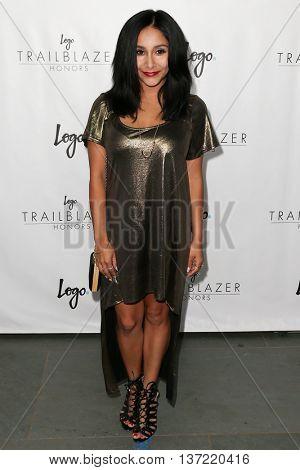 NEW YORK-JUN 25: Nicole Polizzi attends Logo TV's