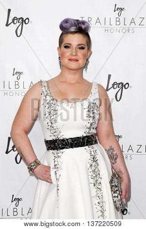 NEW YORK-JUN 25: Kelly Osbourne attends Logo TV's