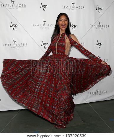 NEW YORK-JUN 25: Geena Rocero attends Logo TV's