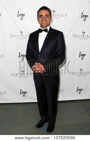 NEW YORK-JUN 25: Arsham Parsi attends Logo TV's