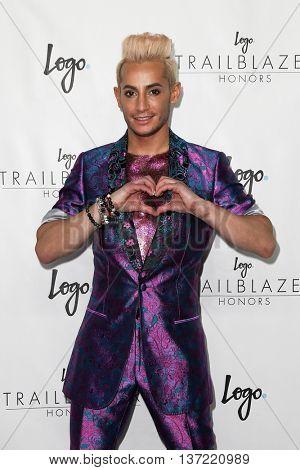 NEW YORK-JUN 25: Frankie Grande attends Logo TV's