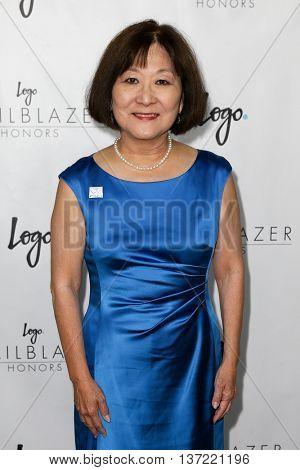 NEW YORK-JUN 25: Marsha Aizumi attends Logo TV's