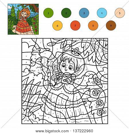Color By Number, Little Princess