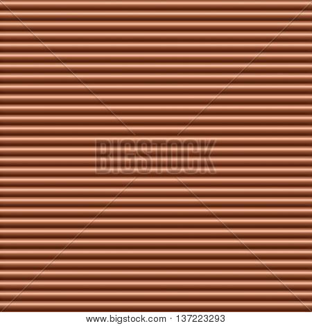 Copper horizontal tubing background texture seamlessly tileable