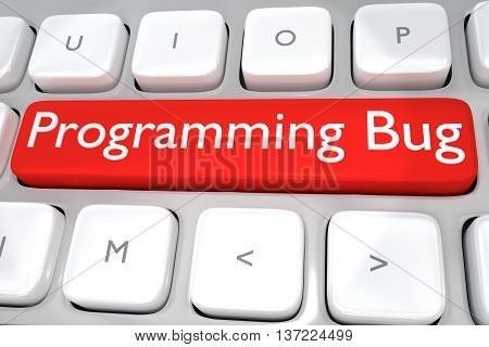 Programming Bug - Software Concept