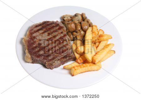 Steak & Chips