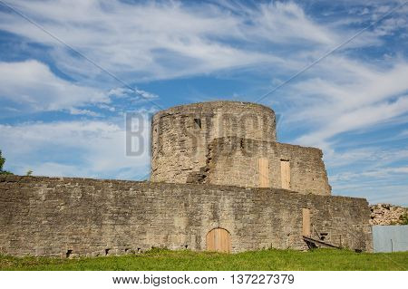 Ancient Koporye fortress in Leningrad region, Russia
