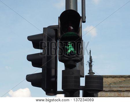 Green Light Traffic Signal