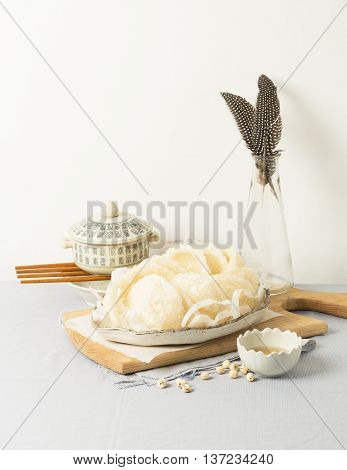 Bird's nest or Salanganes a luxury food from nature