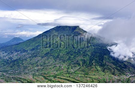 Mount Merbabu Dormant Stratovolcano,indonesia