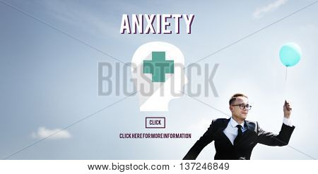 Anxiety Disorder Apprehension Medical Concept