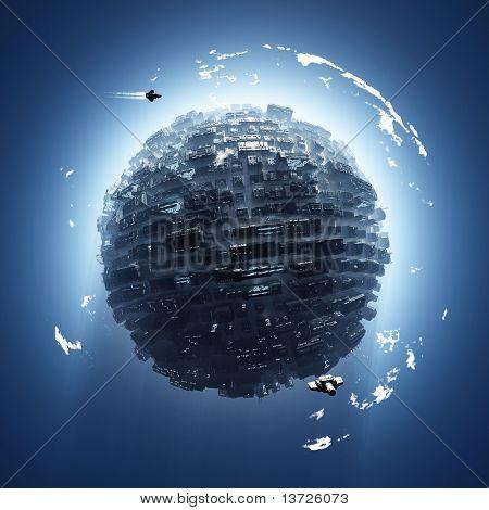 artificial planet