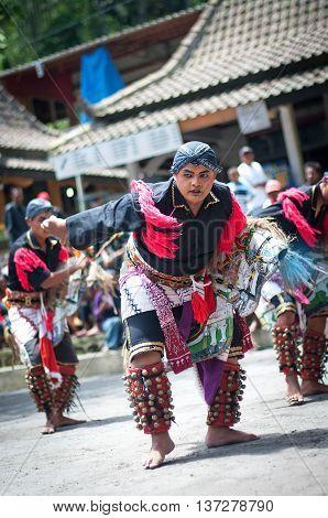 Javanese Traditional Dancers, Indonesia