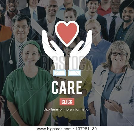 Care Concern Help Love Protection Welfare Concept