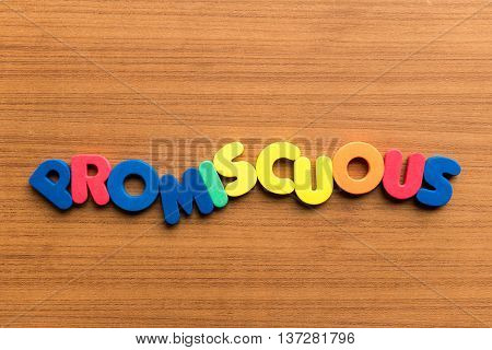 Promiscuous Colorful Word