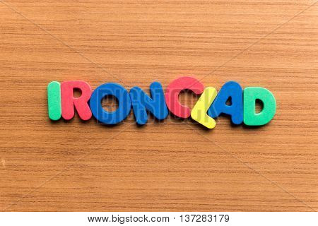 Ironclad Colorful Word