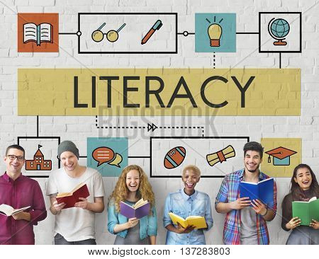 School Teaching Study Literacy Education Concept