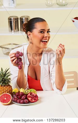 Fruit Grape Eating Snack Health Healthy Diet,weight Loss Grapefruit