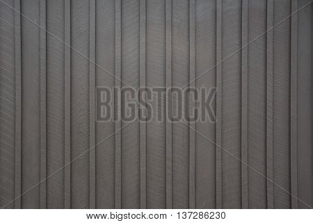 Brown Wooden Siding Vertical Stripes on park building