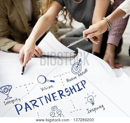 Partnership Agreement Alliance Association Unity Concept