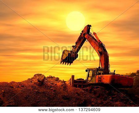 Heavy earth mover