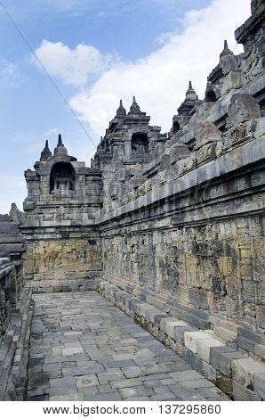 Borobudur Temple. Yogyakarta, Indonesia.