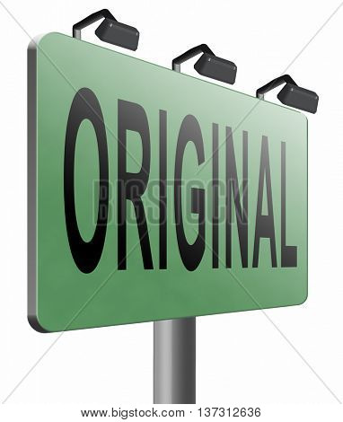 Original and authentic, premium top quality product guaranteed. Custom build or made customized handcraft hand crafted, road sign billboard, 3D illustration, isolated, on white