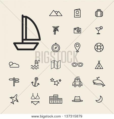 Travel Destination Icons
