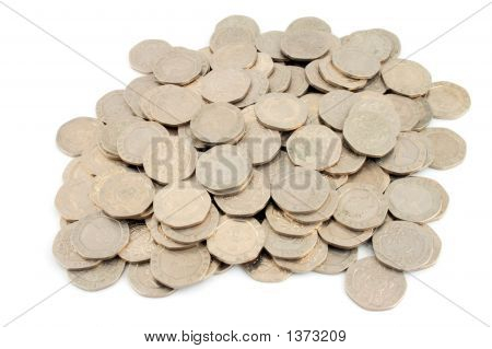 Money - 20 Pence Pieces