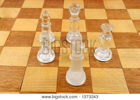Chess Game - 5 Chess Pieces