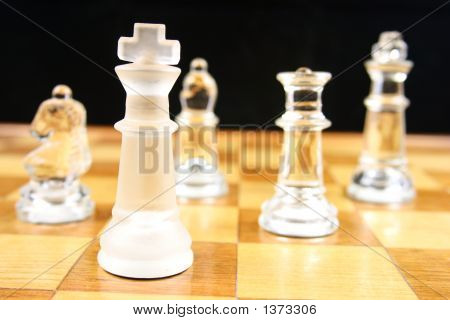 Chess Game -  Focus On The King